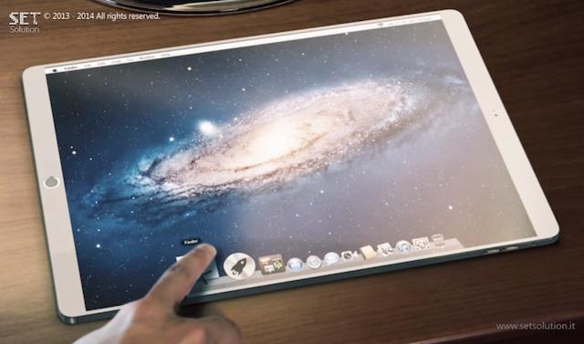 12,9-дюймовый iPad Pro будет работать на OS X и iOS