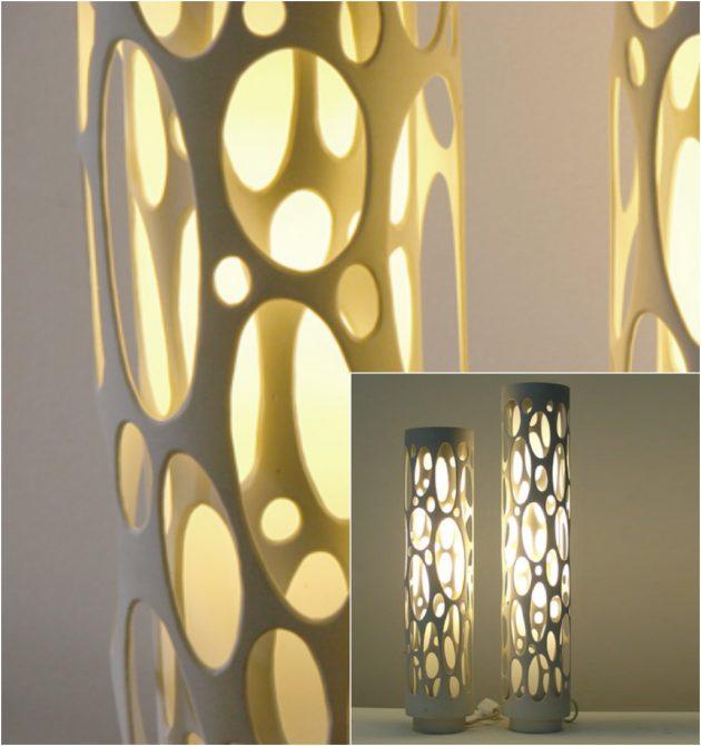 Креативная лампа