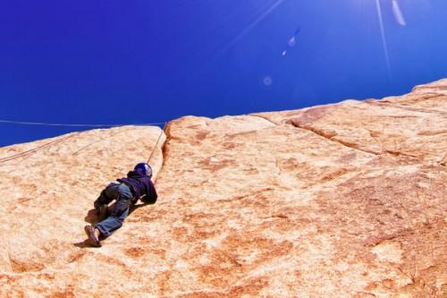 Взобраться на гору