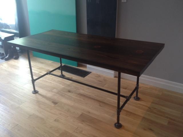 Как сделать стол из металлического профиля своими руками 42
