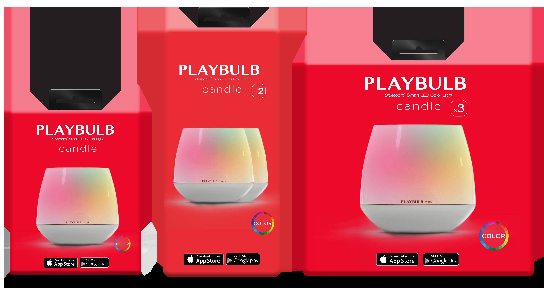 Playbulb —электронная свеча, которой можно управлять с iPhone