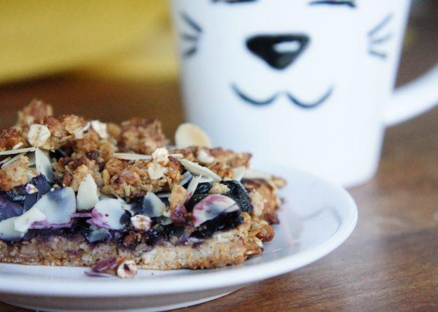 Десерты для бегунов: сыроедческие трюфели и овсяные квадратики с черникой