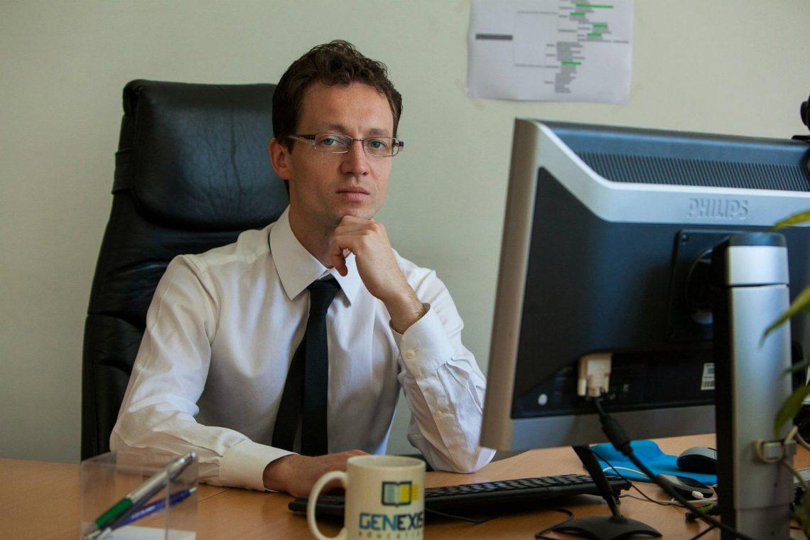 Рабочие места: Валерий Никитин, генеральный директор сервиса электронных домашних заданий «ЯКласс»