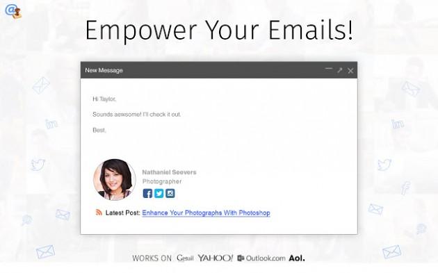 WiseStamp gmail