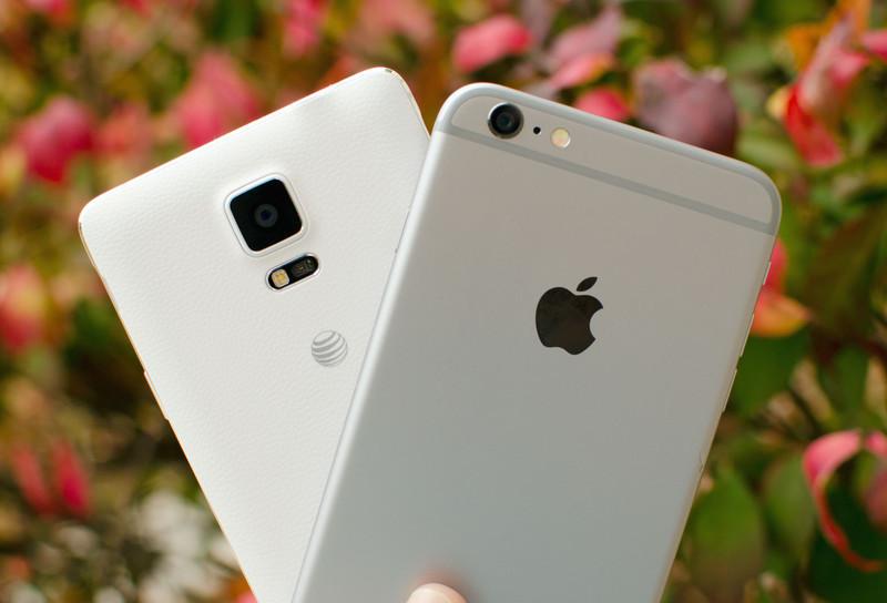 Детальное сравнение камер iPhone 6 Plus и Samsung Galaxy Note 4
