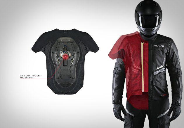 Подушка безопасности для мотоциклистов