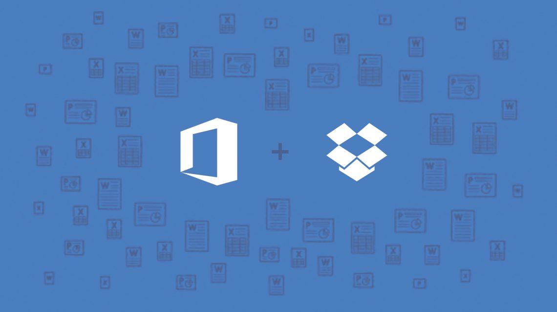 Работать с документами Microsoft Office в Dropbox становится ещё удобнее