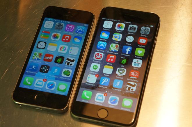 Appleвыпустит4-дюймовый iPhone 6s mini в 2015 году