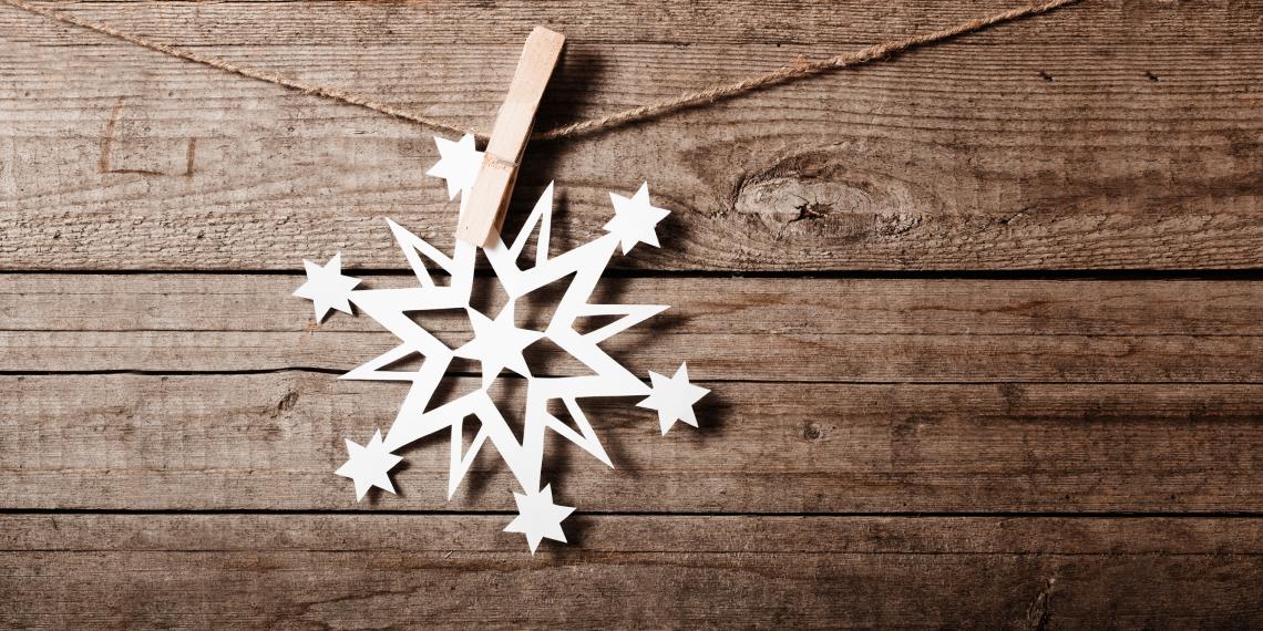Как придумать неповторимую бумажную снежинку