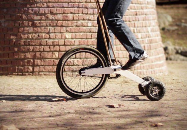 Half Bike  — полувелосипед для города