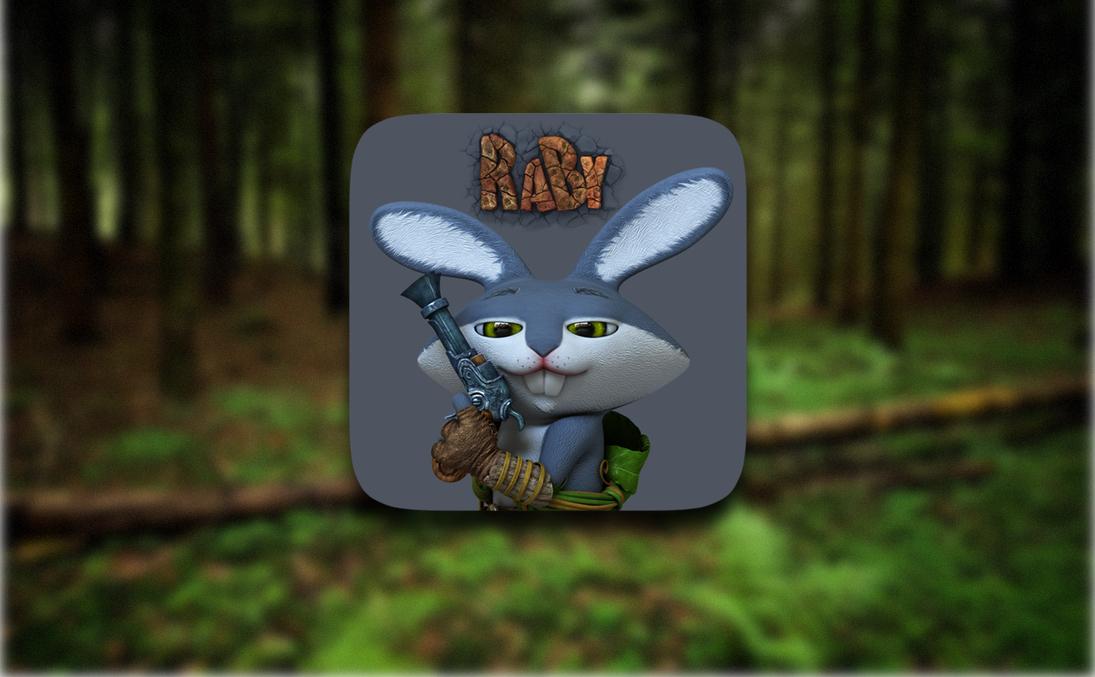 Raby — беспощадный заяц-мститель, враг грибов и друг цветов