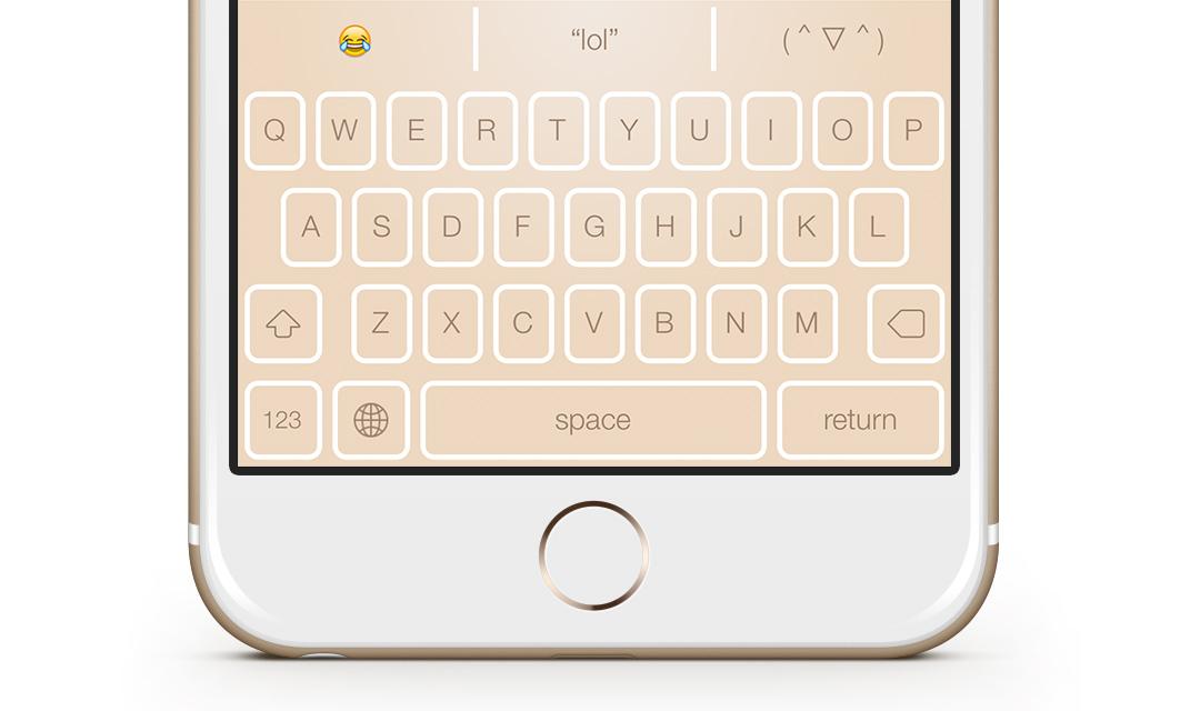 Themeboard для iOS — клавиатура с темами от профессиональных дизайнеров