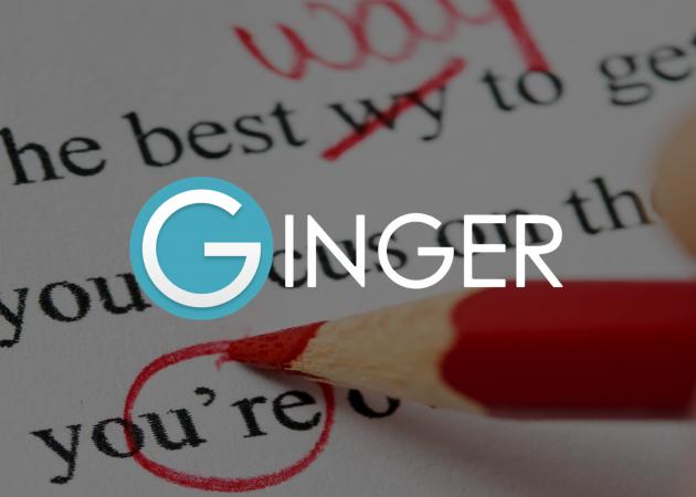 Ginger — мультиплатформенный инструмент для написанияграмотных текстов на английском