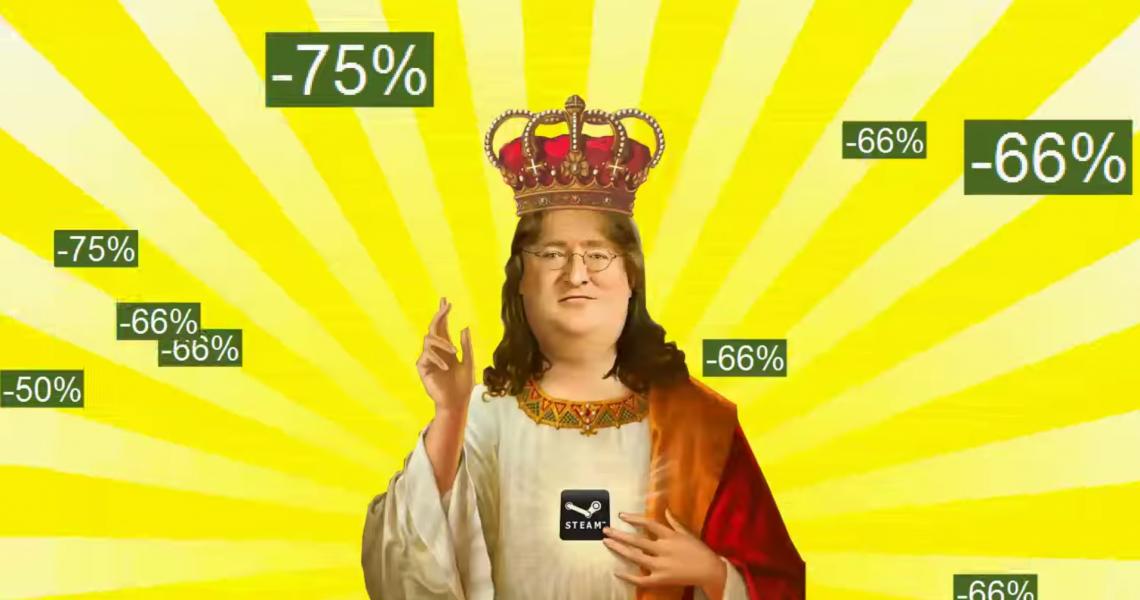 Не пропустите праздничную зимнюю распродажу в Steam