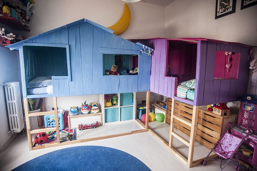 Кровать домик икеа