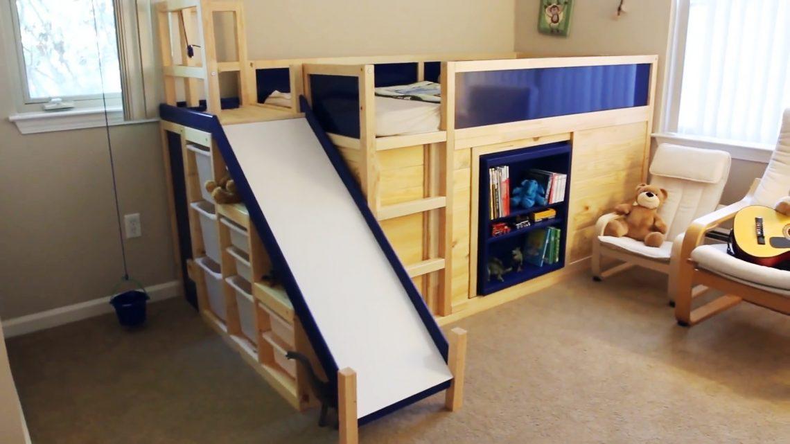 5 идей для родителей, как превратить обычную детскую кровать в нечто особенное