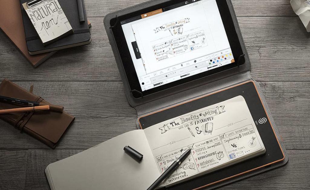 iSketchnote сохраняет все ваши рукописные заметки на iPad