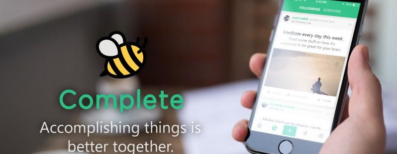 Complete для iOS — становитесь продуктивнее вместе с вашими друзьями
