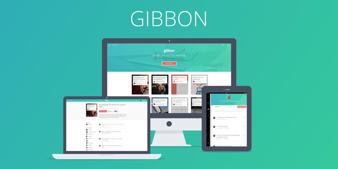 Gibbon: обучение в формате плей-листов теперь и на iPhone
