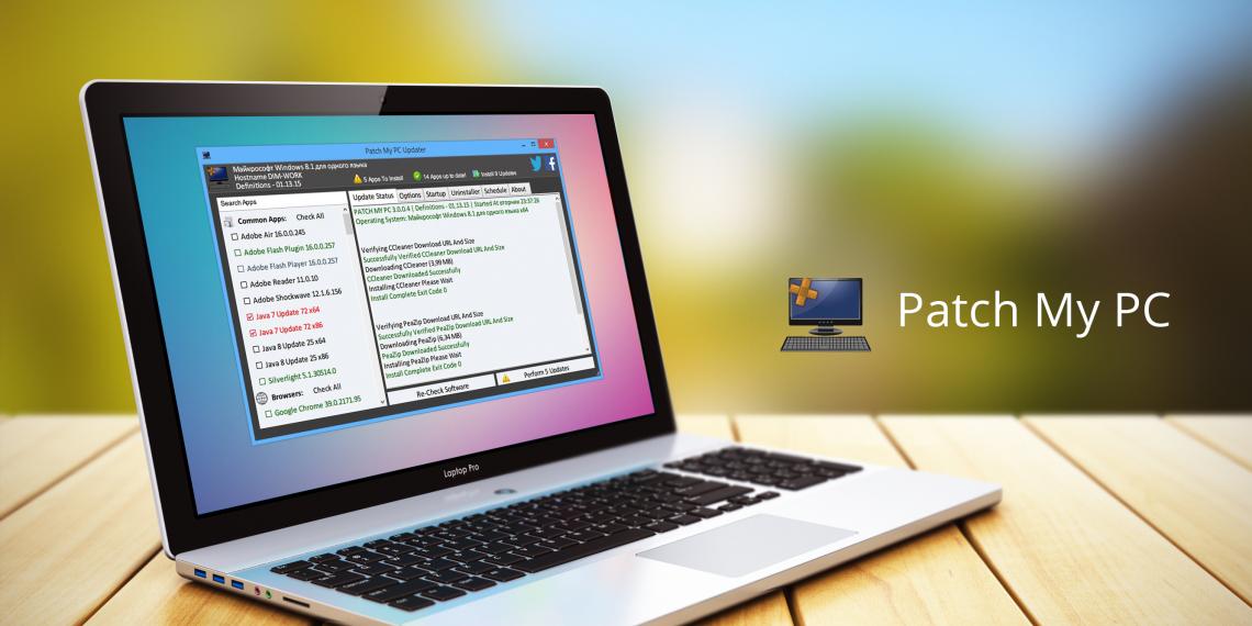Patch My PC — автоматическое обновление популярных программ для Windows