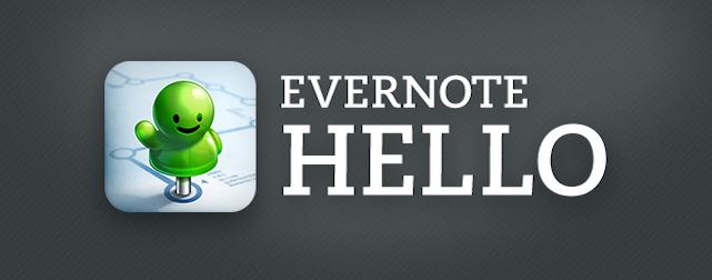 """Evernote сказала """"гудбай"""" приложению Hello"""