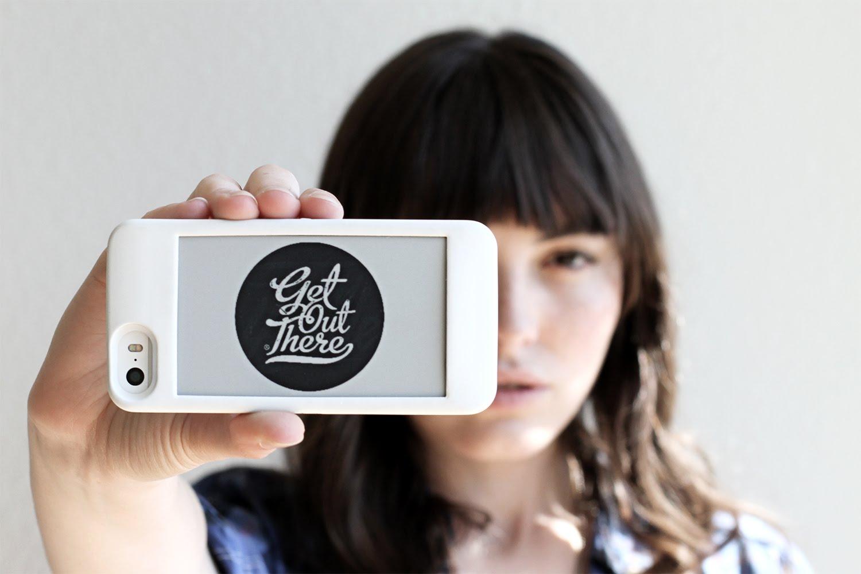Чехол Popslate превратит ваш iPhone в YotaPhone