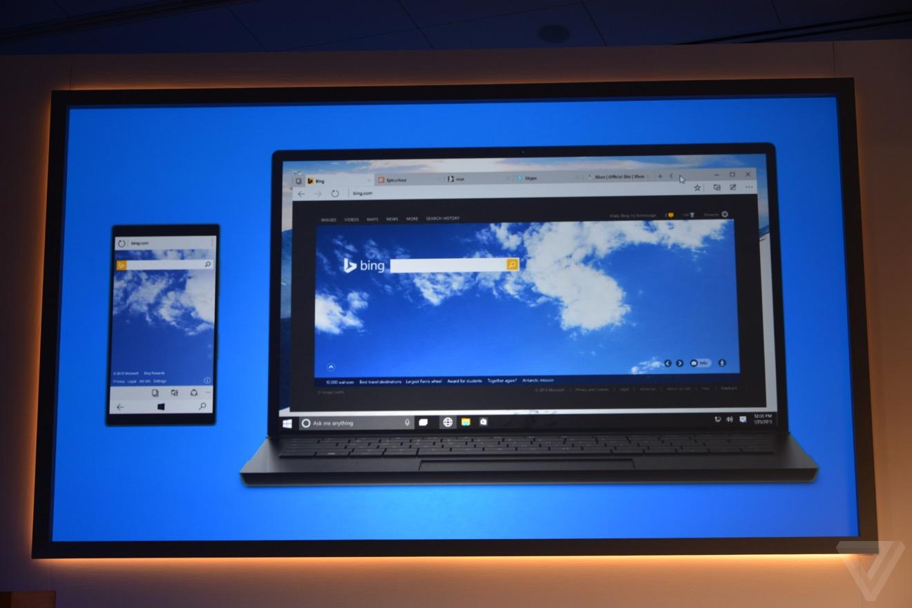 Microsoft представила новый браузер Project Spartan
