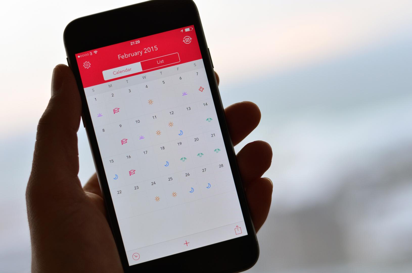 Shifts для iOS —идеальный календарь для тех, кто работает по сменам
