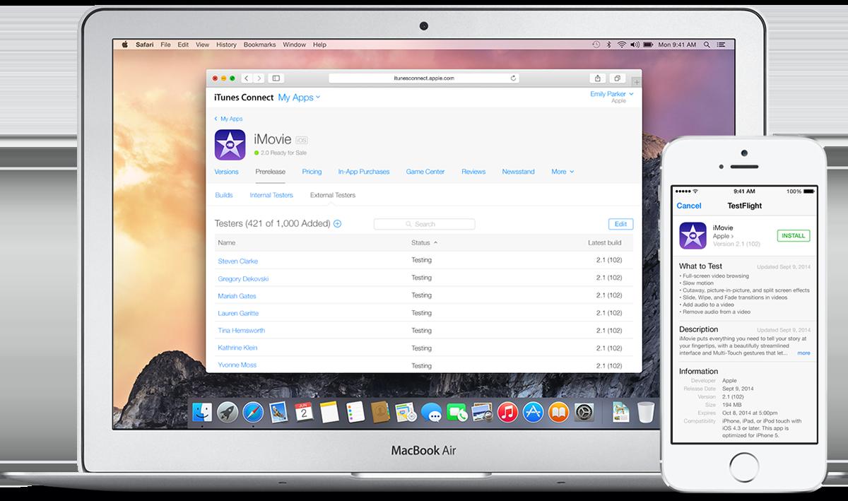 Apple закроет сервис тестирования приложений TestFlight в феврале