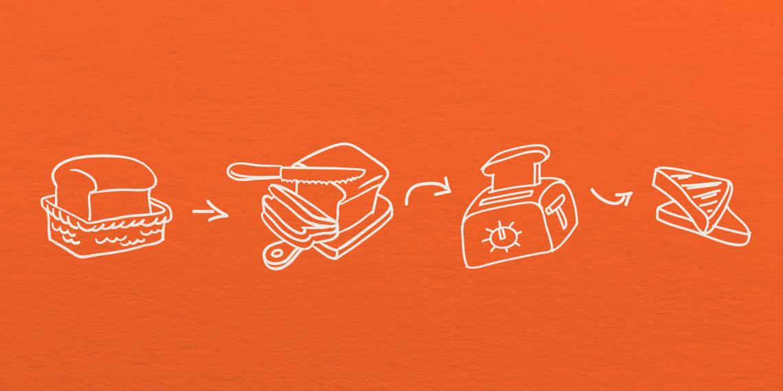 ВИДЕО: Не можете решить проблему? Попробуйте нарисовать, как вы делаете тост!