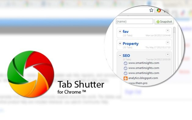 Tab Shutter chrome