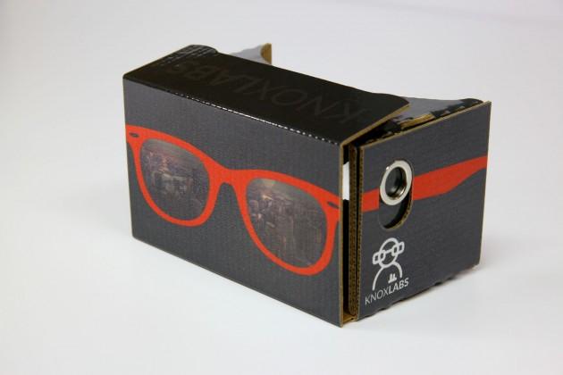 Необычный дизайн Google Cardboard