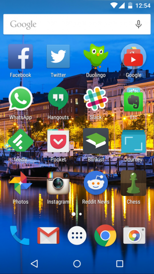 Nexus 5 screenshot