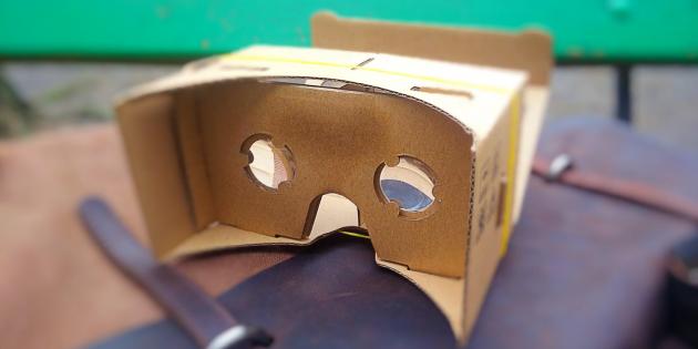 Первые впечатления от Google Cardboard — простого и дешёвого шлема виртуальной реальности