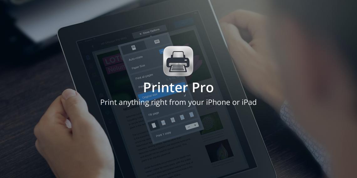 Printer Pro позволяет печатать документы прямо с iPhone