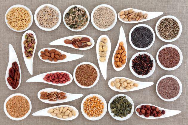 Польза семян и орехов для мозга