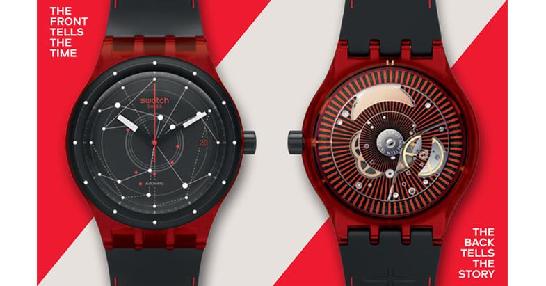 Умные часы от Swatch составят конкуренцию Apple Watch