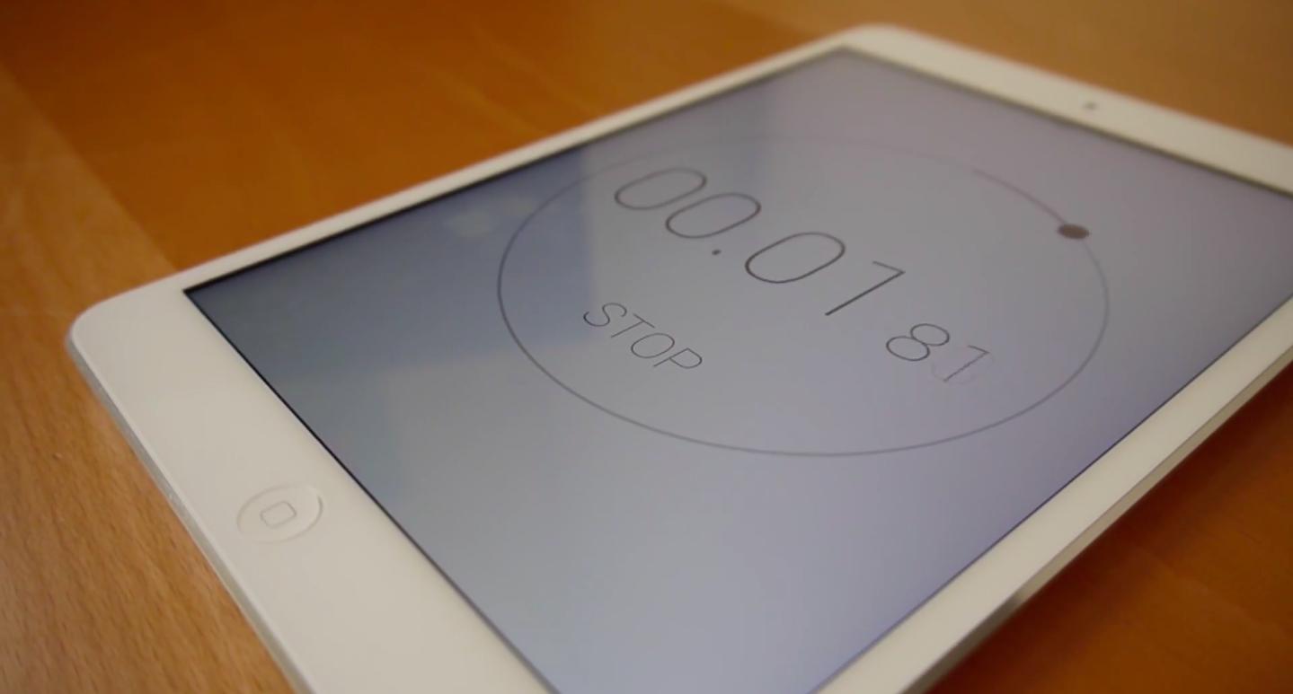 Timr —минималистичный таймер и секундомер для iOS