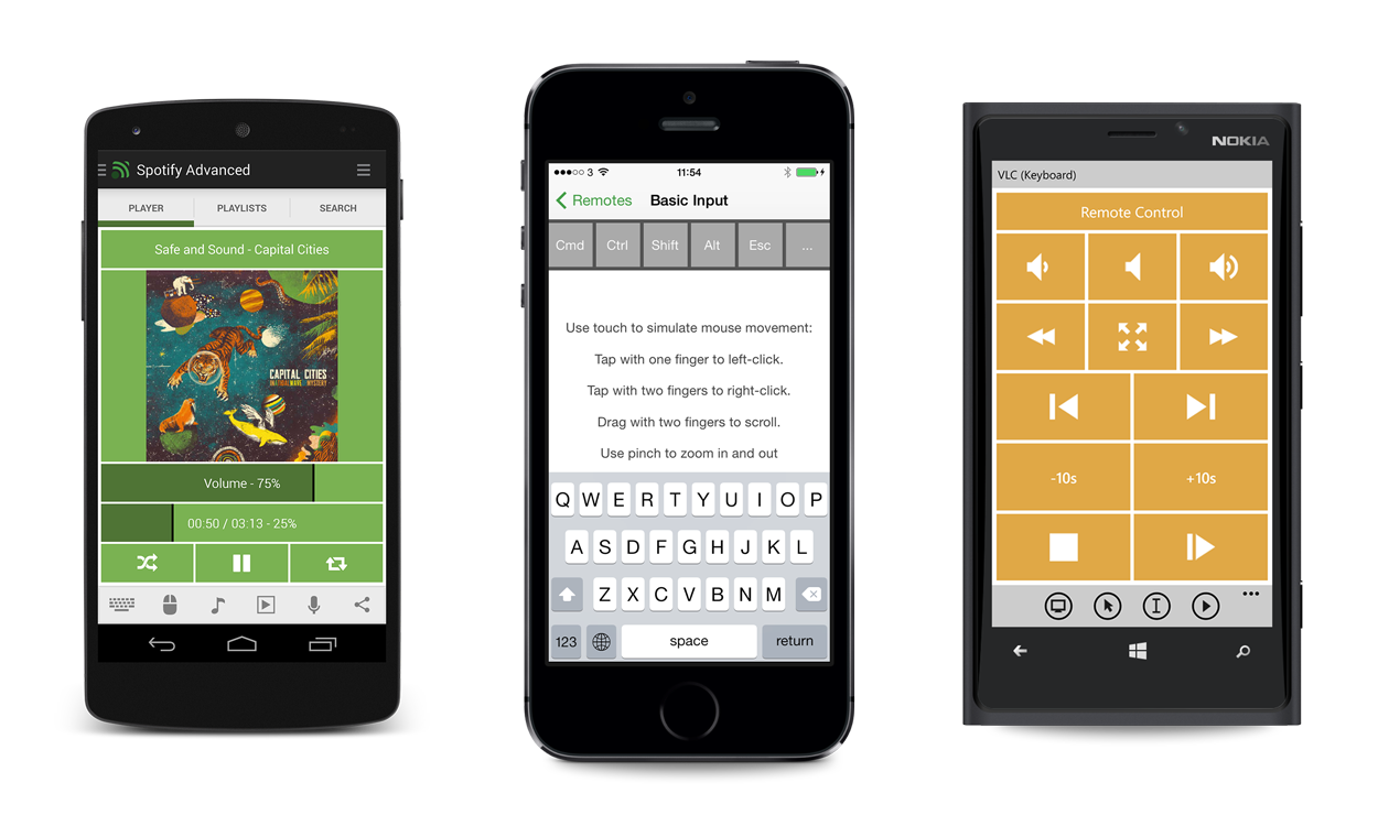 Unified Remote позволяет управлять компьютером прямо с iPhone