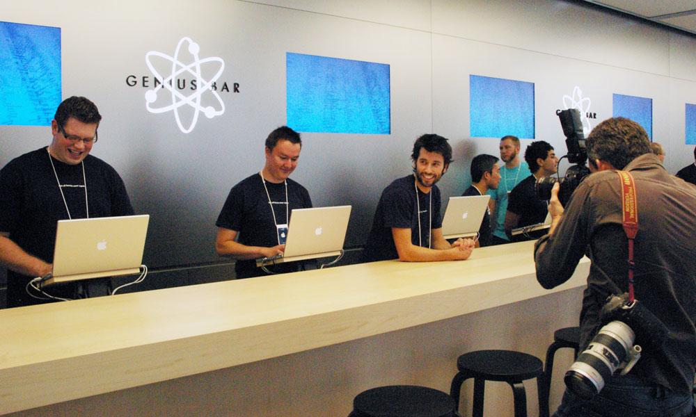 В Apple Store будут изменены Genius Bar