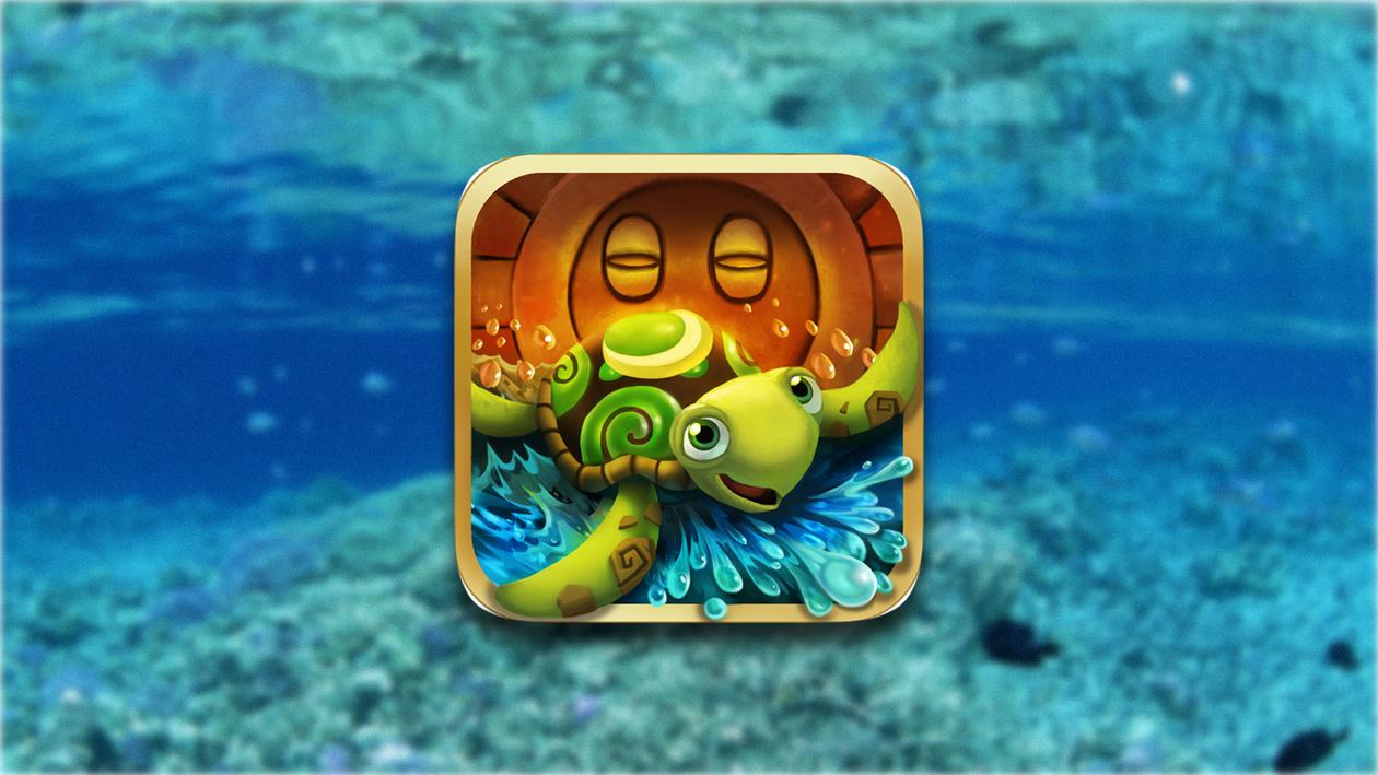Turtle up — собери все звезды на дне океана