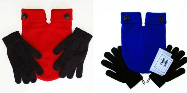 Перчатки для двоих
