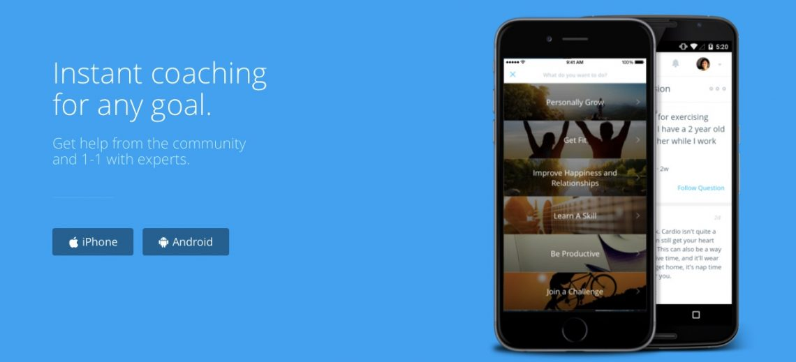 Coach.me — мобильное приложение, которое найдёт вам тренера для любого занятия