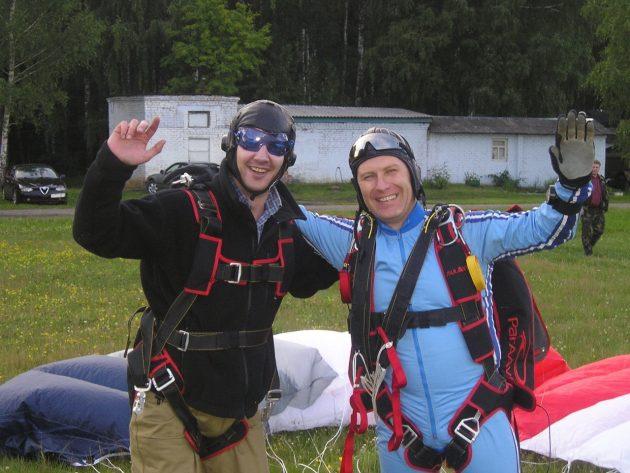Люди с инвалидностью: Игорь Анненков, парашютист