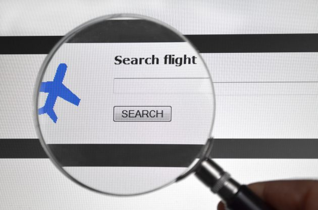 Search flight, airline search service on the web