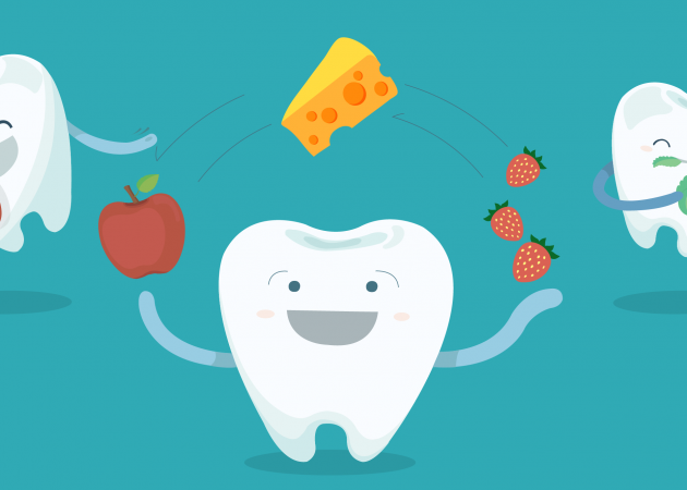 Доступные продукты, которые полезны для наших зубов