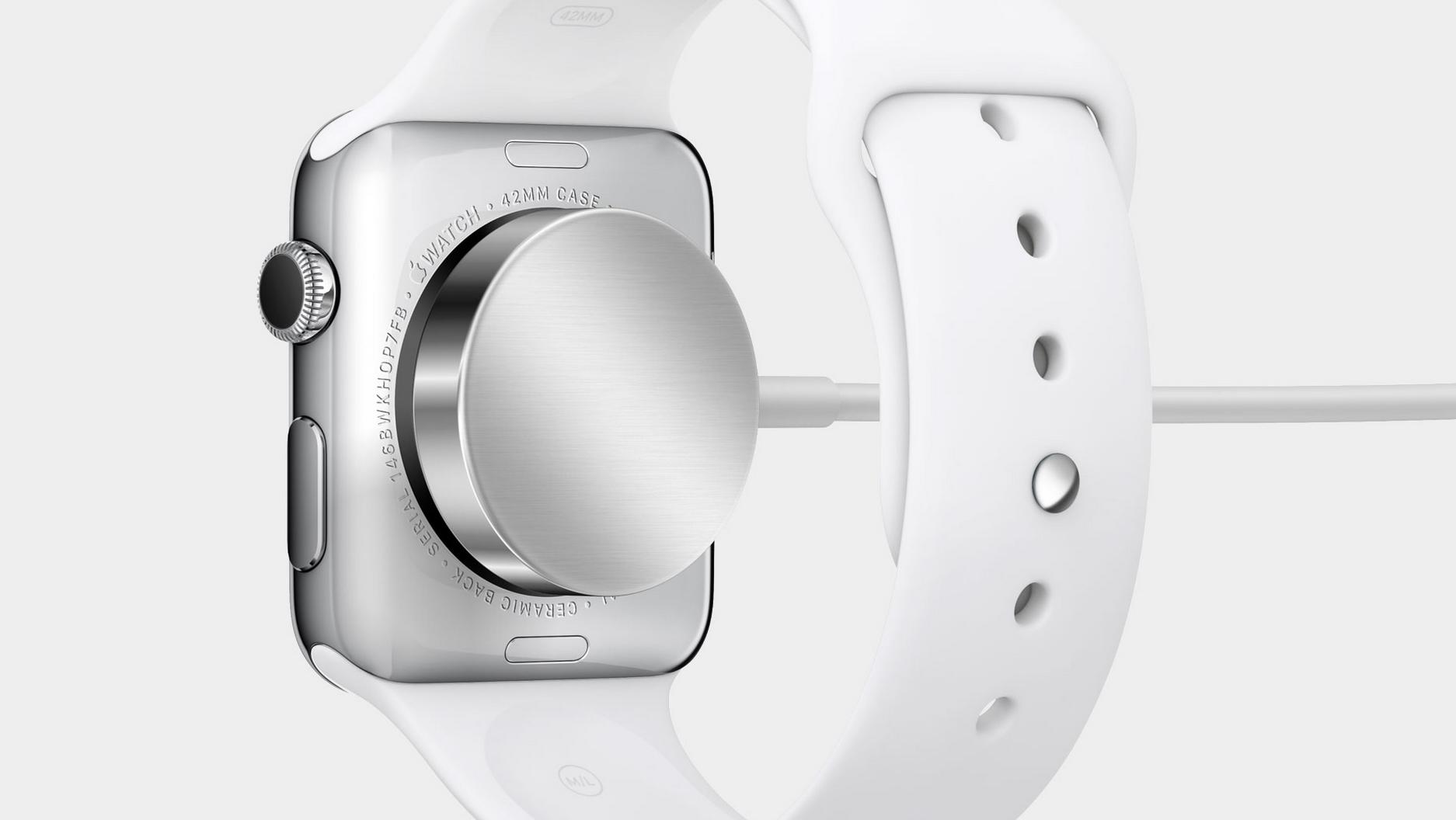 Официальная информация о времени работы Apple Watch