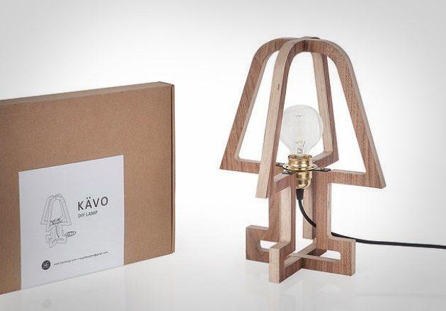 Лампа Kavo для минималистичного экодизайна