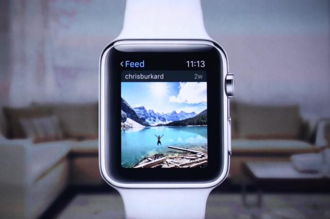 Как на Apple Watch будут выглядеть Twitter, Instagram и Facebook