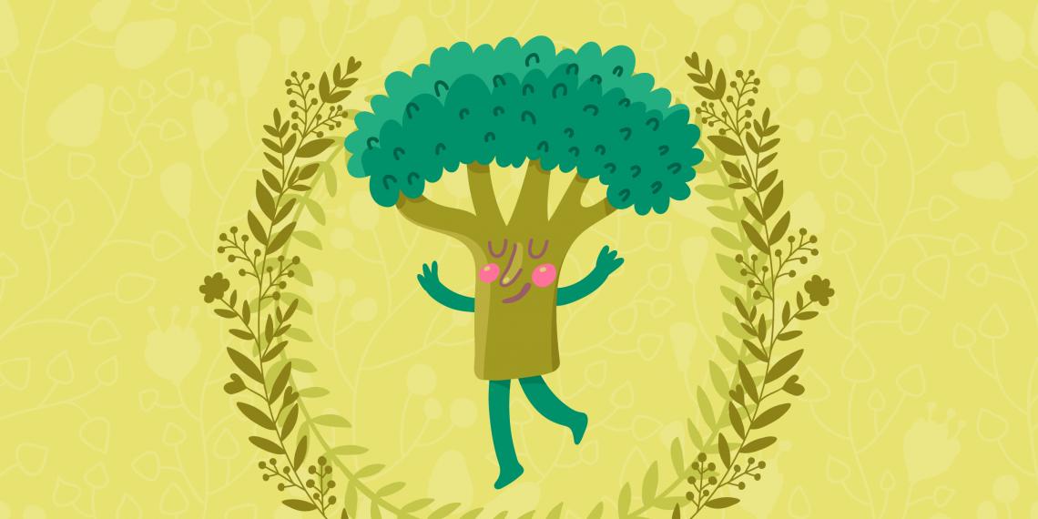 Как бороться с перееданием: тест брокколи